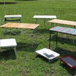 【キャンプ用品】初心者必見!アウトドアテーブルの選び方とおすすめ17選