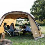 【キャンプ初心者向け】2ルームテントの魅力とおすすめ12選